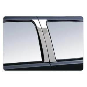 2007 Ford F-150   Description:Door Pillar Post Trim, Polished Stainless Steel  Dimensions:6.50x27.75x1.20   Discount Price:$39.99   Fits:2007 Ford F-150 Pickup XLT  2007 Ford F-150 Pickup Lariat  2007 Ford F-150 Pickup King Ranch  2007 Ford F-150 Pickup Harley-Davidson Edition  2007 Ford F-150 Pickup FX4  2007 Ford F-150 Pickup FX2