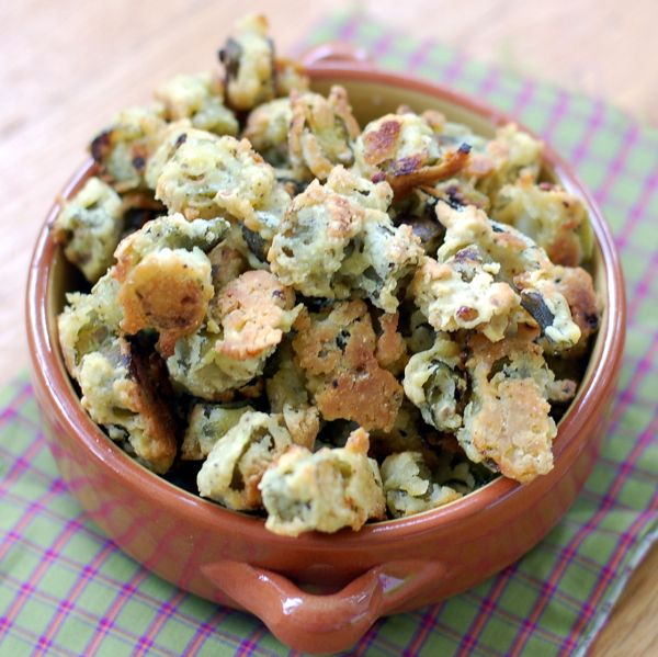 If you are a fried okra fan, then you MUST try this recipe. It's oven fried and better than any deep fried version you've ever had!