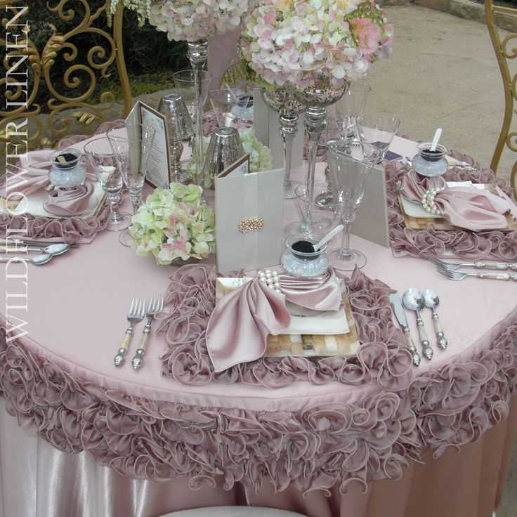 152 Best Fab Table Linens Images On Pinterest Weddings
