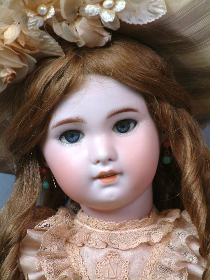 "Delightful 22"" SFBJ 230  Jumeau With Big Blue Eyes, Pale Complexion~ Superb!"