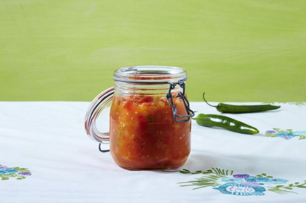 Unser beliebtes Rezept für Tomaten-Paprika-Letscho und mehr als 55.000 weitere kostenlose Rezepte auf LECKER.de.