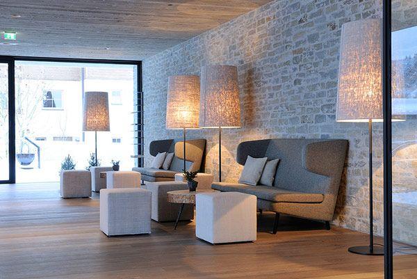 Уютные интерьеры Wiesrgut Design Hotel