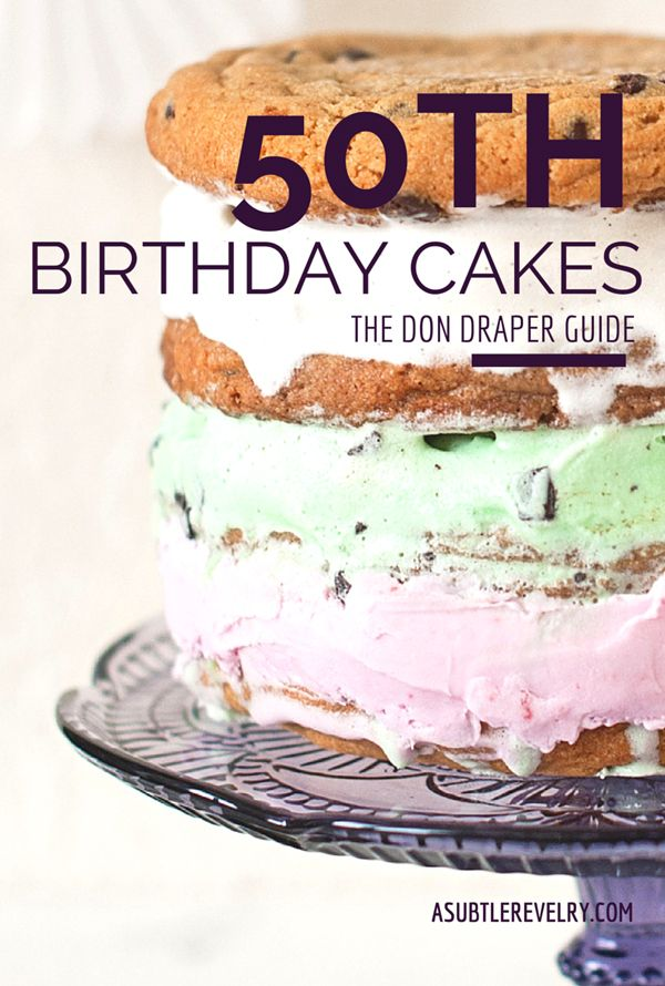 I love the awesome look that getting older has these days; from 50th birthday cake ideas, to...