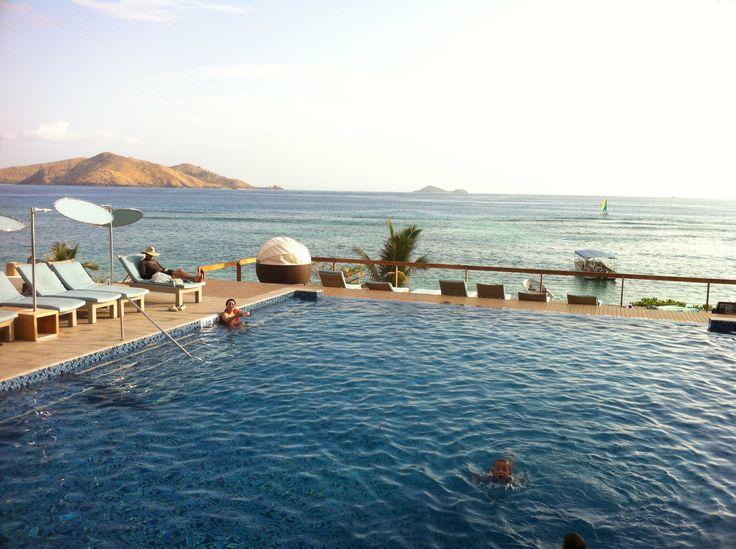 Pool in Tokoriki Island.