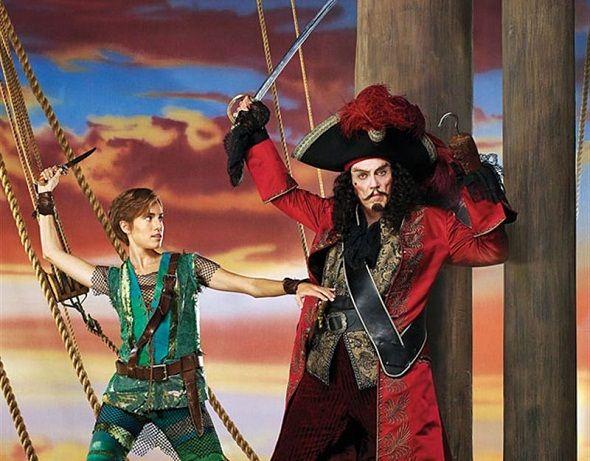 Primera imagen de Christopher Walken como el Capitán Garfio en 'Peter Pan live!'