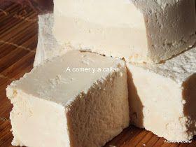 A comer y a callar: JABON BLANCO CON THERMOMIX