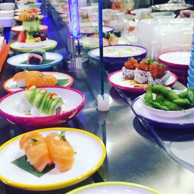 Conveyor Belt Sushi Chain Yo! Will Debut In NYC Next Month - Eater NY
