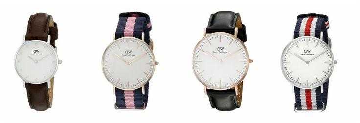 Wear It For Less: Amazon: Daniel Wellington Watches Sale!