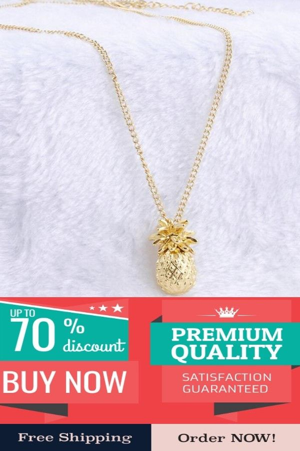 7fbb65703 Fahion Design Pineapple Pendant Necklace For Women Girl Vintage Fruit Cute  Link Chain Necklace Jewelry Accessories Shellhard #love #necklace  #beautiful ...