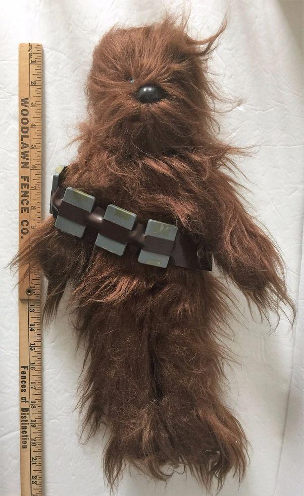 "VTG 1977 Kenner Star Wars Chewbacca Plush Stuffed Animal Doll Bandolier Belt 22"" #Kenner"