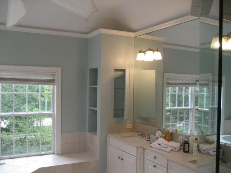 Choosing great interior paint color cool calm color - How many paint colors in a house interior ...
