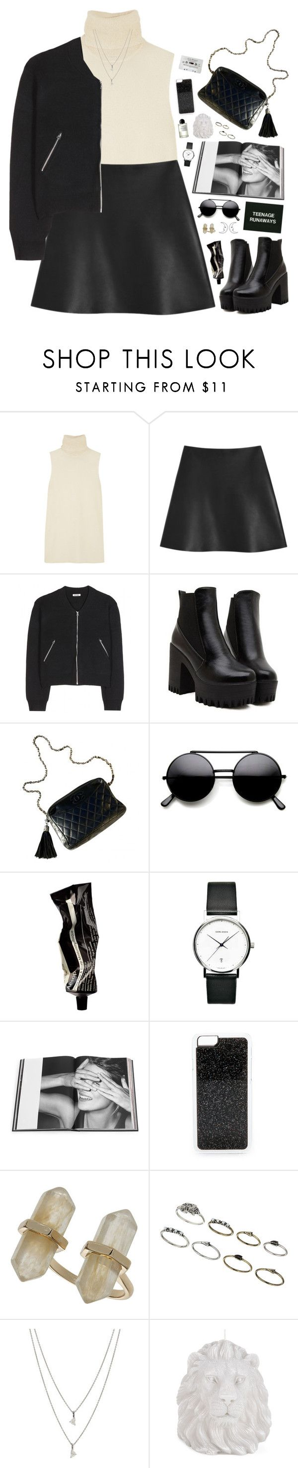 """You can get no love from me."" by bomlion on Polyvore featuring Helmut Lang, Mulberry, Acne Studios, Chanel, Aesop, Georg Jensen, Rizzoli Publishing, Zero Gravity, Topshop and Maison Margiela"