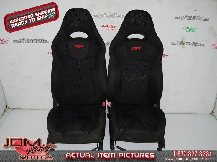 Used Subaru Forester STI Seats, 2003-2008 Black Seats SG9 Spec-C    Find this item on our website: https://www.jdmracingmotors.com/engine_details/2271  #subaru #jdm #sti #forester #forestersti #seats #bucketseats #jdmracingmotors #sg9 #sg #specc #fsg #fsti #black