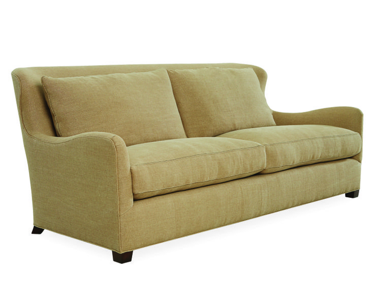 Lee Industries Sofa In Stonewash McGee Camel