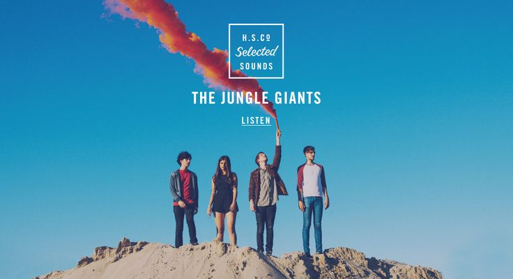Selected Sounds | The Jungle Giants