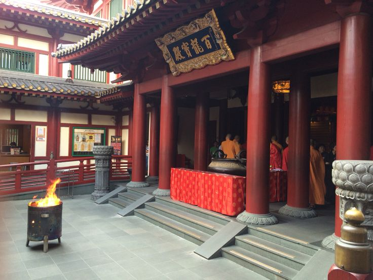 Buddhist Tooth Temple ceremony