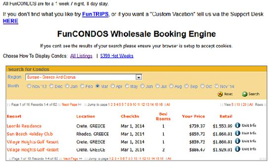 Here you can see how much you can save for a Fun Condo Trip!If you do the Math,you save all the anual membership plus $500!Awesome!