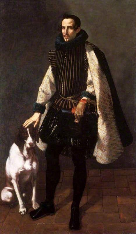 Jerónimo Jacinto de Espinosa Portrait of Don Francisco Vives de Cañamás, Count of Faura (1620's) National Trust Collections (+)