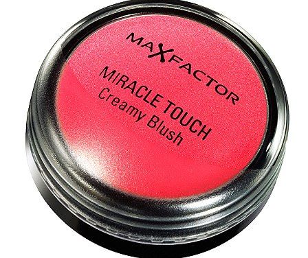 Max Factor Miracle Touch Creamy Blush in Soft Candy, £6.99, boots.com...