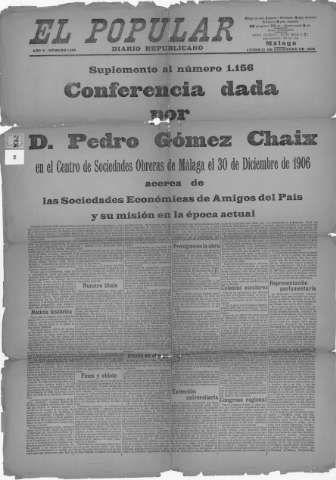 Gómez Chaix, Pedro