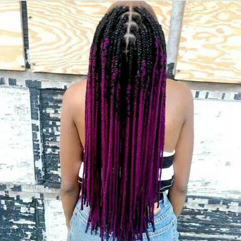 Ombre Braid To Faux Locs H 196 206 R Pinterest Faux Locs