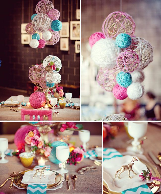 Make as decoration for party in what ever your color scheme.    #Party, #Decorations