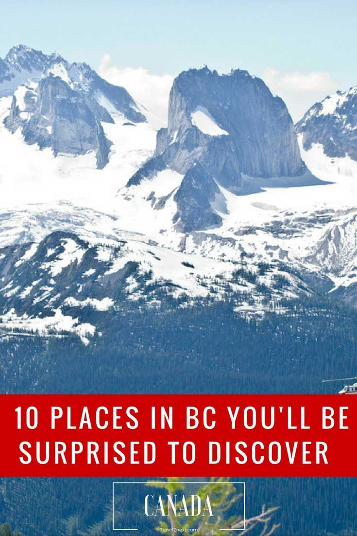 10 surprising places in British Columbia you've probably never heard of http://travel2next.com/10-surprising-places-in-british-columbia/?utm_campaign=coschedule&utm_source=pinterest&utm_medium=Travel%202%20Next&utm_content=10%20surprising%20places%20in%20British%20Columbia%20you%27ve%20probably%20never%20heard%20of