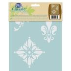 Traditional Medallion Stencil Home Depot