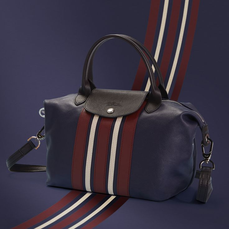 Longchamp Spring 2017 Le Pliage Cuir collection. Discover more on www.longchamp.com