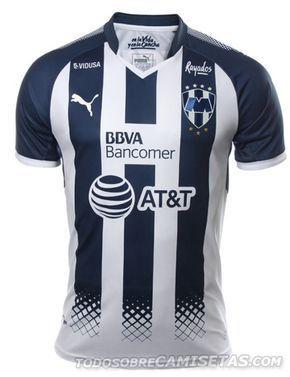 4b3a72f92329f Camiseta local PUMA de Rayados de Monterrey 2017-18
