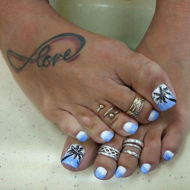 1000 ideas about beach toe nails on pinterest beach