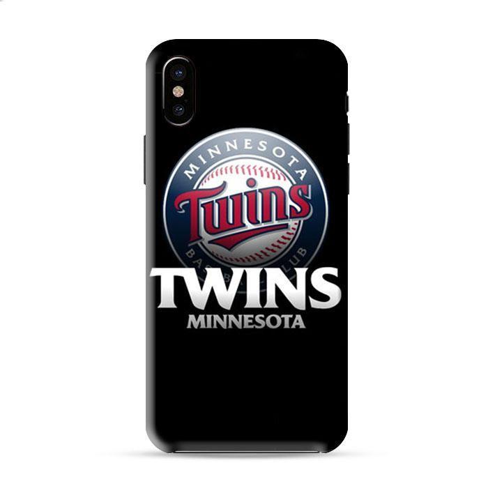 Minnesota Twins Baseball Logo Iphone X 3D Case Caseperson