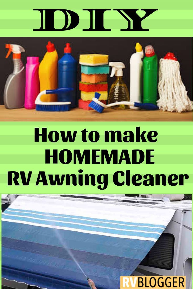 Homemade Rv Awning Cleaner With Images Safe Cleaners Cleaners Diy Cleaning Products