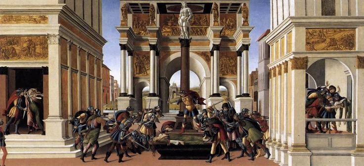 Sandro Botticelli - Die Geschichte von Lucretia