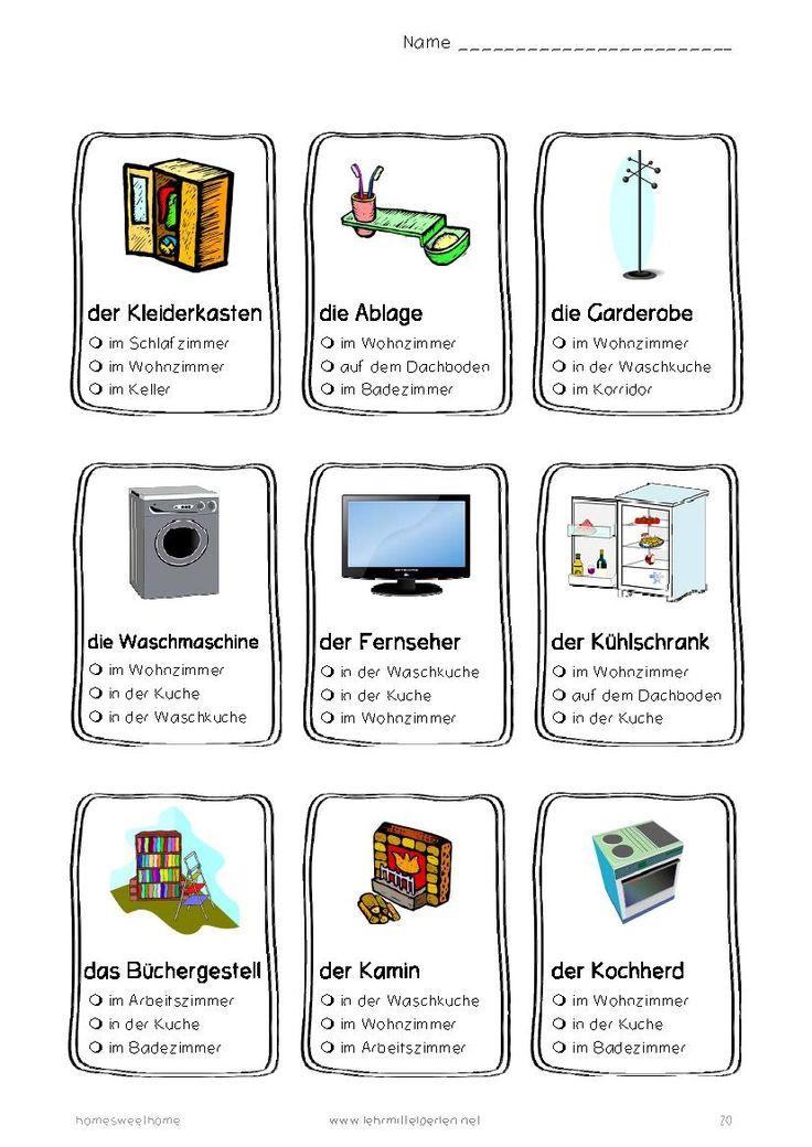Häuser, Räume, Möbel