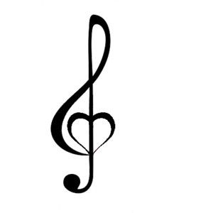 small clef tattoo - Google Search