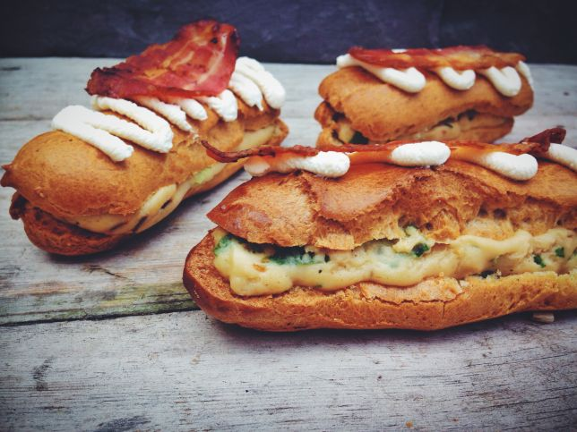 Great British Bake Off recipe: Mushroom, cheese and bacon eclairs, oh yes! ...