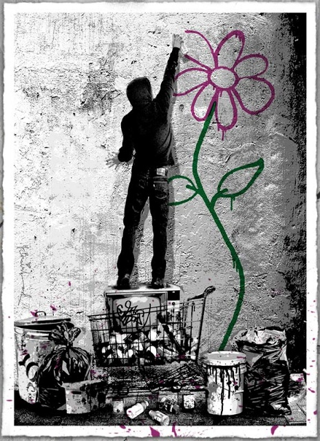 55 best mr brainwash images on pinterest mr brainwash for Mural mr brainwash