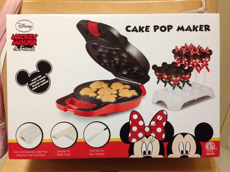 Mickey Cake Pop Maker