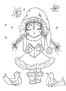 128 best Coloring Pages/Winter, Christmas images on