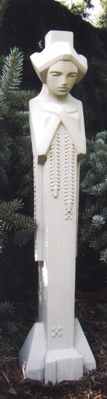 "I will have one these...eventually... Frank Lloyd Wright Sprite, Midway Gardens Sculpture (31""H)"
