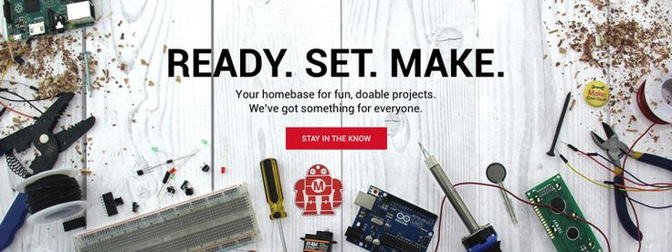 Shop the online store of Make: magazine & Maker Faire. Find great DIY projects for the whole family - 3D Printing, Arduino, Raspberry Pi, drones, robotics, STEM