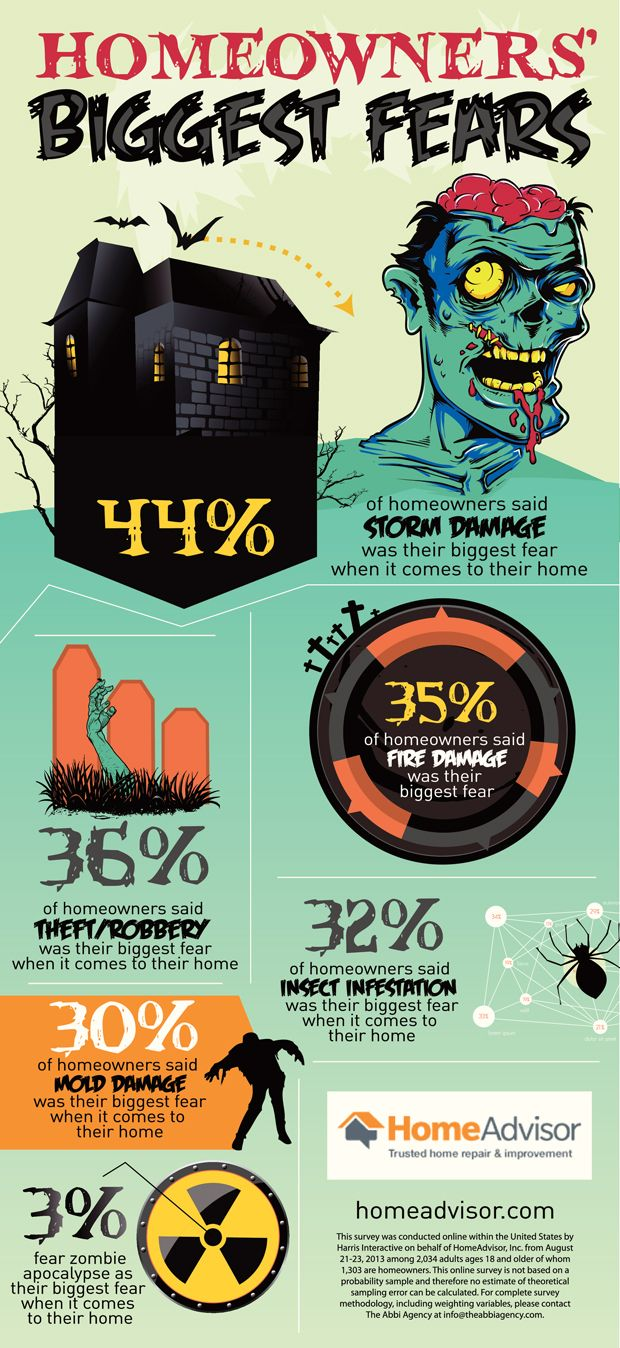 Homeowner s biggest fears