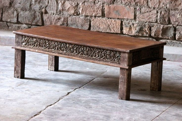 Our Anala 'Intricate Carving' Coffee Table is a 'one off' unique piece of furniture that does not exist anywhere else. It has been sourced in India and brought back to the UK to give someone the opportunity to love and cherish this piece of furniture in their home