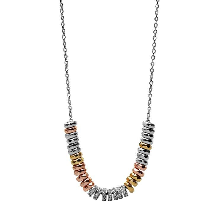 Damen Halskette Mixed Metal JA5812 |FOSSIL®