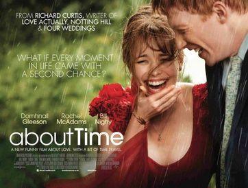 About Time (2013 film)  Directed byRichard Curtis Starringby Domhnall Gleeson Rachel McAdams Bill Nighy Tom Hollander Margot Robbie Music byNick Laird-Clowes