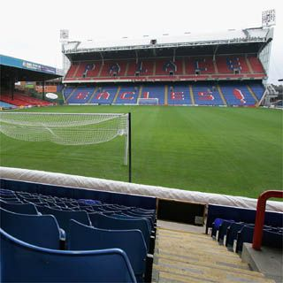 Selhurst Park, home of Crystal Palace FC.