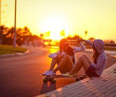summertime with your bestie <3