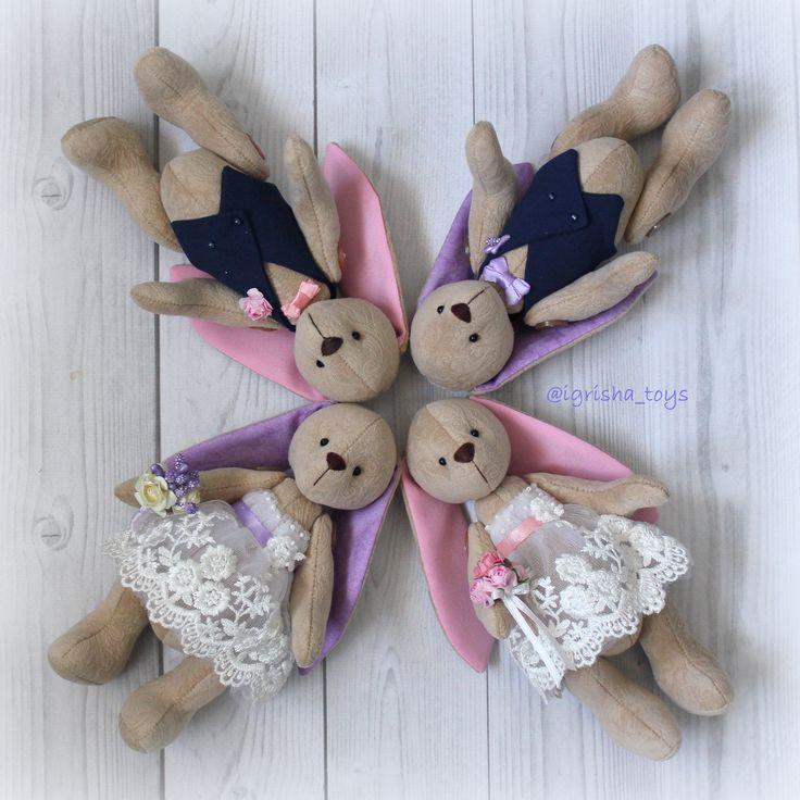 Свадебные зайчики - эксклюзивный подарок