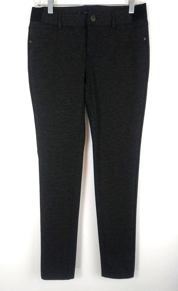 61634f48bc Simply Vera Wang Womens Ponte Pants Size Small Gray Mid Rise Skinny  Leggings #SimplyVeraVeraWang #CasualPants